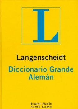 DICCIONARIO LANGESCHEIDT GRANDE ALEMAN