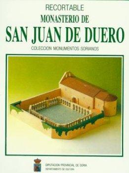 RECORTABLE MONASTERIO DE SAN JUAN DE DUERO